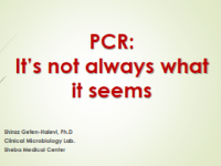 PCR: It's not always what it seems